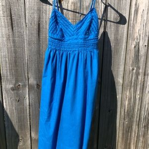 Le Chateau Blue Sun Dress
